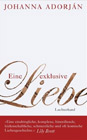 Bild: Buchcover Johanna Adorján, Eine exklusive Liebe