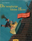 Bild: Buchcover Lieve Baeten, Die neugierige kleine Hexe. Das große Pop-up-Buch.