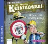 Bild: Buchcover Jürgen Banscherus, Ein Fall für Kwiatkowski - Hunde, Hüte und Halunken