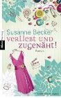 Bild: Buchcover Susanne Becker, Verliebt und zugenäht!