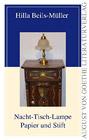 Bild: Buchcover Hilla Beils-Müller, Nacht-Tisch-Lampe Papier und Stift