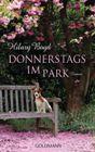 Bild: Buchcover Hilary Boyd, Donnerstags im Park