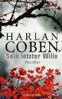 Bild: Buchcover Harlan Coben, Sein letzter Wille