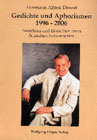 Bild: Buchcover Hermann Alfred Denzel, Gedichte und Aphorismen 1996-2006