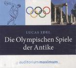 Bild: Cover Lucas Edel, Die Olympischen Spiele in der Antike
