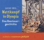 Bild: Cover Lucas Edel, Wettkampf in Olympia. Eine Abenteuergeschichte