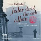 Bild: Cover Hans Fallada, Jeder stirbt für sich alleine