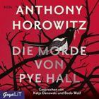 Bild: Buchcover Anthony Horowitz, Die Morde von Pye Hall