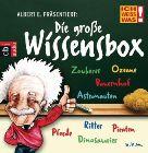 Bild: Cover Thomas Krüger u.a., Albert E. präsentiert: Die große Wissensbox