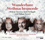 Bild: Cover Helene Tursten, Anne B. Ragde und Håkan Nesser, Wunderbare Weihnachtsmorde